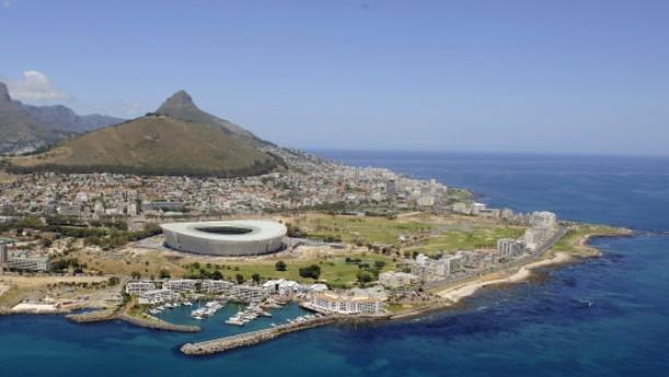 Fußball-WM 2010 - Greenpoint Stadion in Kapstadt