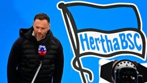 Hertha BSC sitzt mit Bleiweste im Startblock