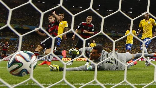 Die Nationalmannschaft ist ein Party-Crasher
