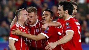 Bei den Bayern stimmt nur das Ergebnis