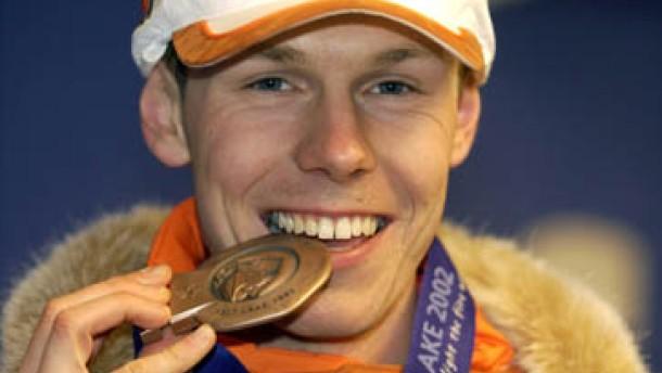 Jens Boden holt erste Medaille für Deutschland