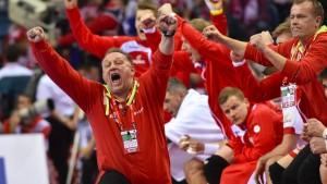 Polen demütigt den Titelverteidiger