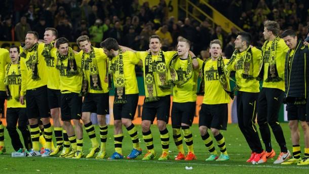"""Dortmund """"auf den Felgen"""" ins Finale"""