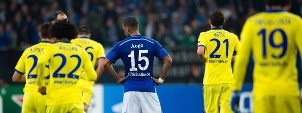 Gelb ist nicht unbedingt die Schalker Lieblingsfarbe