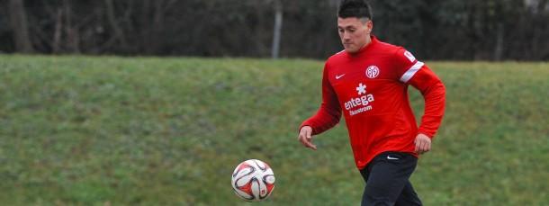 Ein Chilene in Mainz: Nicolas Castillo verstärkt den Sturm