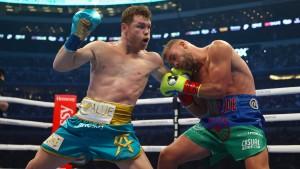 Der derzeit weltbeste Boxer vor einer Rekordkulisse