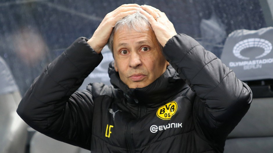 Wie geht es weiter beim BVB? Trainer Lucien Favre hofft auf Erfolge.
