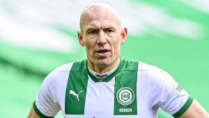 Arjen Robben wird emotional