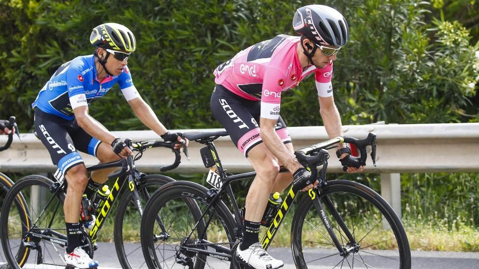 Zwei schnelle Fahrer: Yates und Chaves geben bislang das Tempo vor