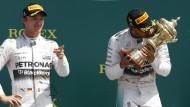 Hamilton gewinnt packendes Rennen