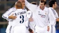 Feiern lieber mit Madrid: Die Stars von Real