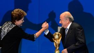 Blatter: Armutszeugnis für Brasilien und Fifa