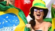 Nur wenig ganz große Freude: Brasilien schneidet unter den Erwartungen ab