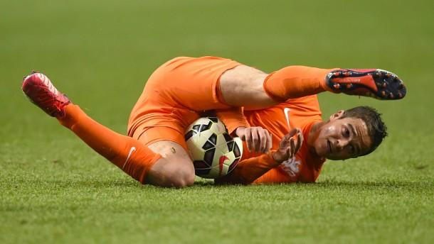 """""""Dieser Fußball tut den Augen weh"""""""