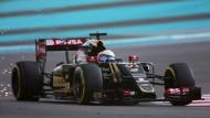 Der Lotus von Romain Grosjean gehört ab der kommenden Saison wieder zu Renault