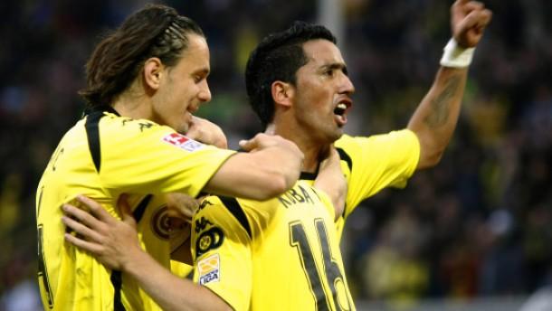Dortmund gewinnt das kleine Revierderby