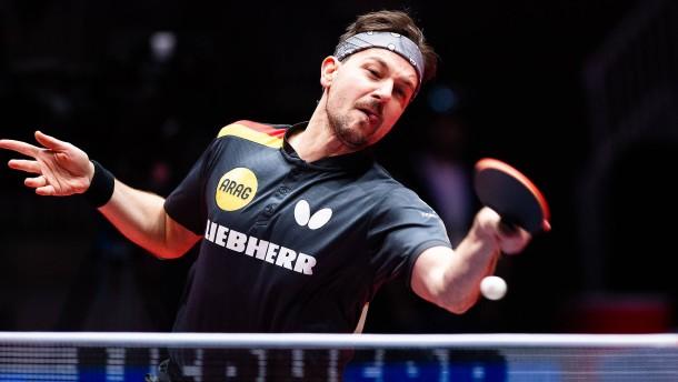 Es läuft für Timo Boll und das deutsche Tischtennis-Team