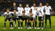 Die deutsche Startelf gegen die Tschechische Republik