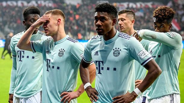 Die Bayern hadern mit sich und dem Videobeweis
