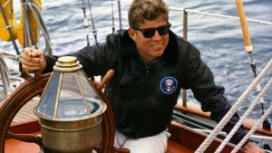 An Bord mit JFK