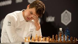 Carlsen verpasst das Schach-Triple