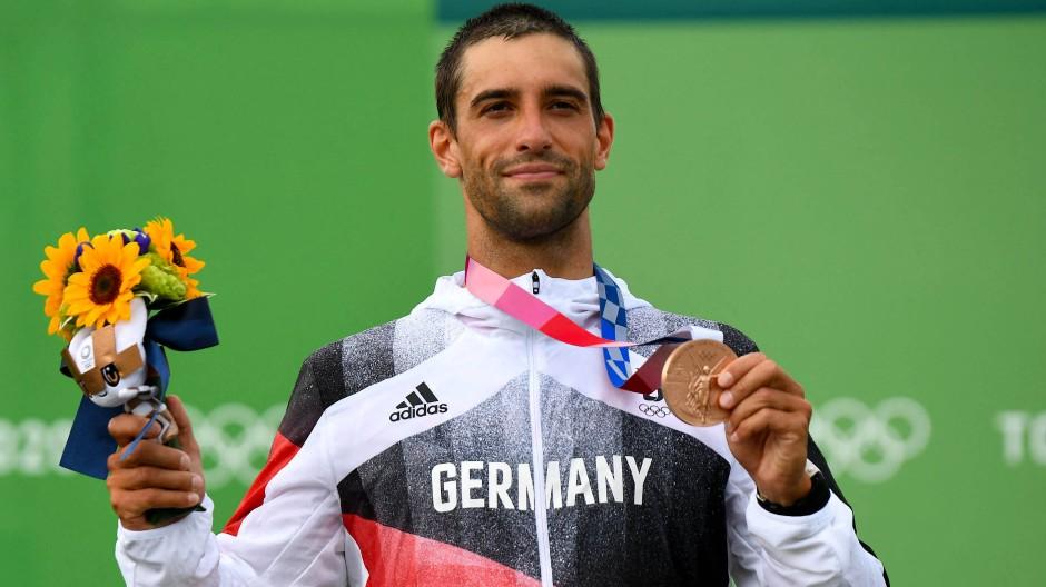 Das vierte Edelmetall im Kanuslalom für Deutschland: Hannes Aigner gewinnt Bronze
