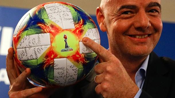 Fußball-Europa spielt bei WM mit 48 Teams mit