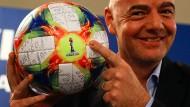 Alles im Griff: Gianni Infantino darf beim Fifa-Council auf Unterstützung bauen.