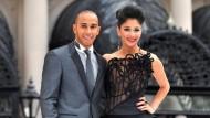 Ist das schon Hollywood: Lewis Hamilton bei einer Kinopremiere mit Freundin und Sängerin Nicole Scherzinger