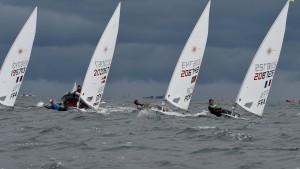 Philipp Buhl segelt zu Silber