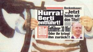 """""""Der letzte Rest an freier Schnauze verschwindet"""""""