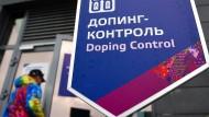 Das kommt einem kyrillisch vor: Dopingkontrolle in Russland