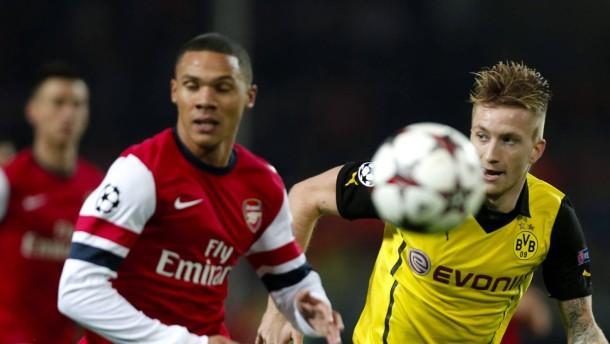 Bayern gegen ManCity - BVB gegen Arsenal