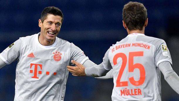 Lockerer Bayern-Sieg mit Schönheitsfehlern