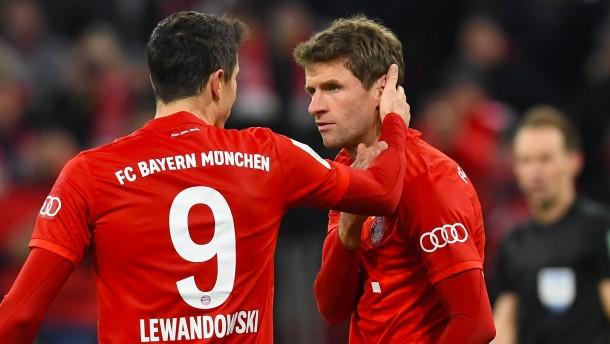 Erstaunliche Bayern-Schludrigkeit in der Schlussphase