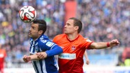 Torloses Topspiel: Karlsruhe und Kaiserslautern trennen sich torlos