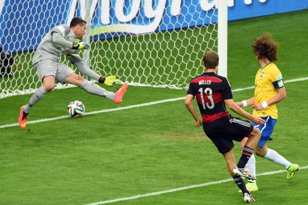 deutschland gegen brasilien statistik