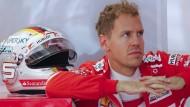 Sogar das Karriereende droht: Formel-1-Fahrer Sebastian Vettel