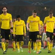 Die Köpfe gehen nach unten: Dortmund verliert bei Arsenal mit 0:2