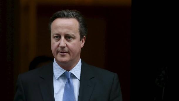 "Cameron kämpft gegen ""Terrorsympathisanten"""