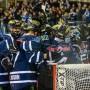 Teamgeist: die Ingolstädter bejubeln den Einzug ins Halbfinale