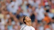 Was ist los? Krise? Torflaute? Cristiano Ronaldo traf mal nicht für Real Madrid