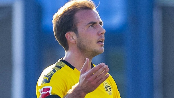 Mario Götze bekommt kein Abschiedsspiel mit dem BVB