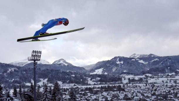 Gute Qualifikation für die deutschen Skispringer