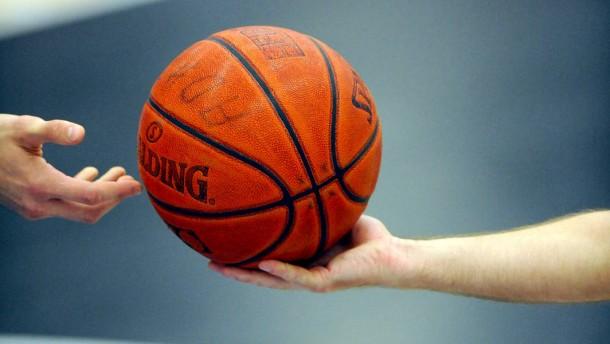 Keine Chance für Basketball