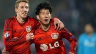 Gefährliche Situation für Leverkusen
