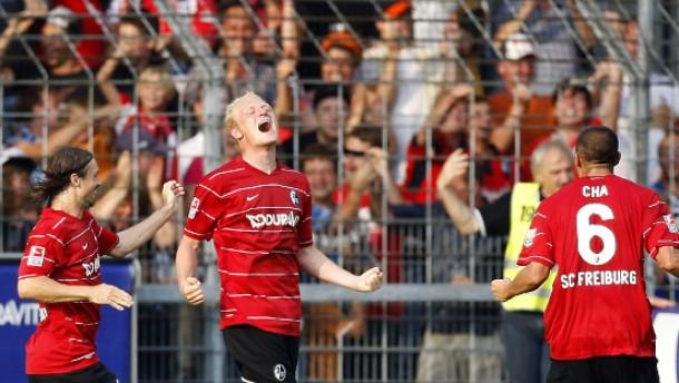 Freiburg startet mit einem Unentschieden