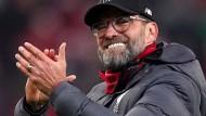 """""""Es war eine super intensive Partie"""": Liverpool-Trainer Jürgen Klopp"""
