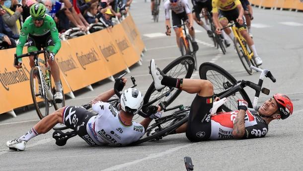 Auch Sagan muss bei der Tour aussteigen