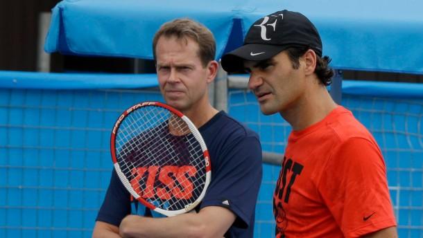 Edberg ist Federers letzter Kick